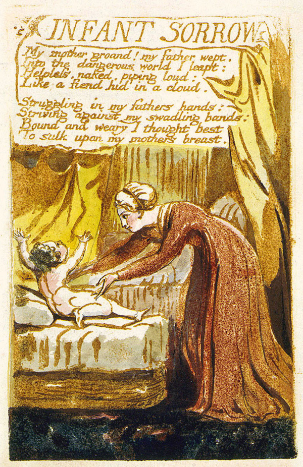 """Life exhal'd in milky fondness""""—Becoming a Mother in William Blake's"""