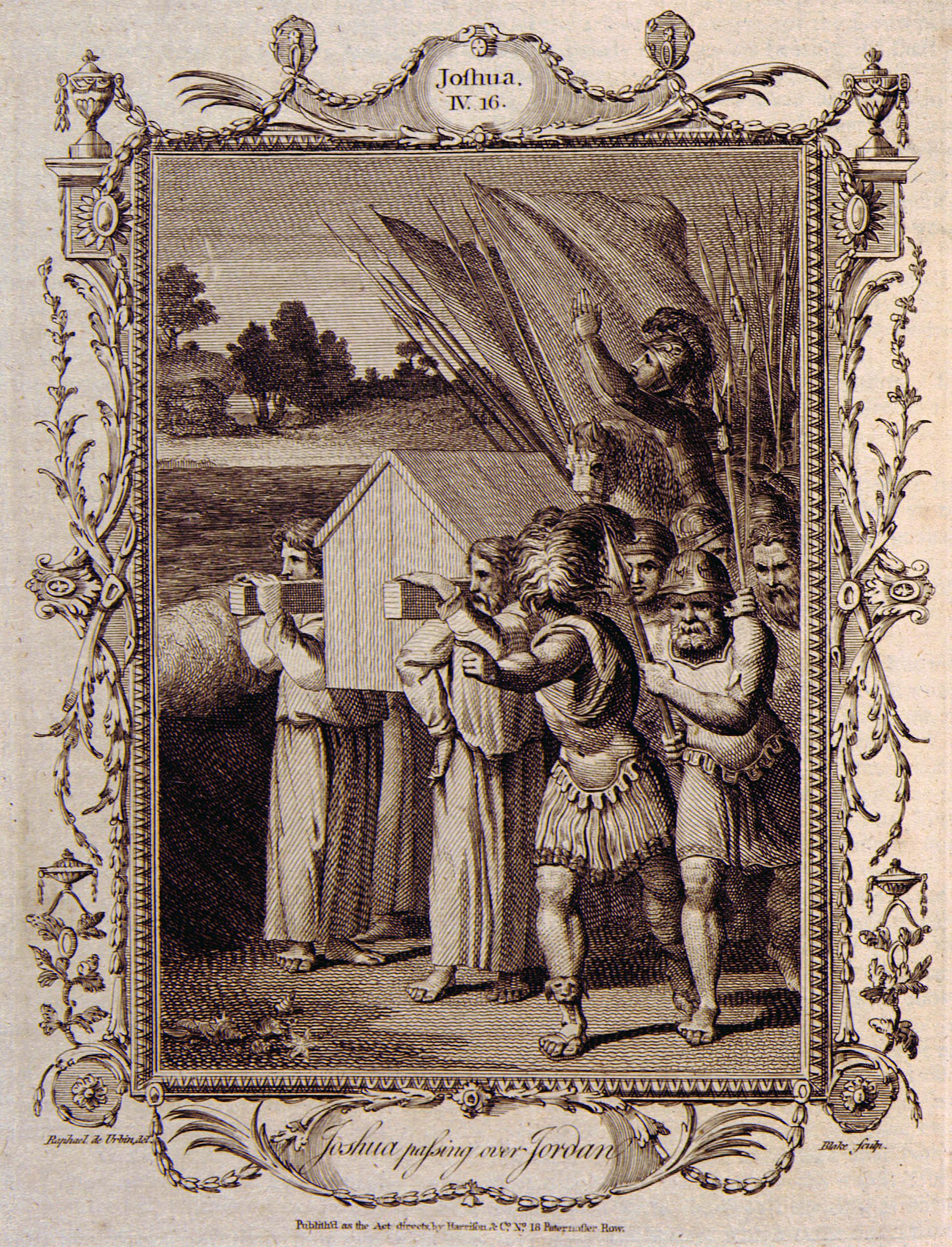 Blakes moon ark symbolism nicholas o warner blakean 15 blake joshua crossing jordan in the protestants family bible buycottarizona