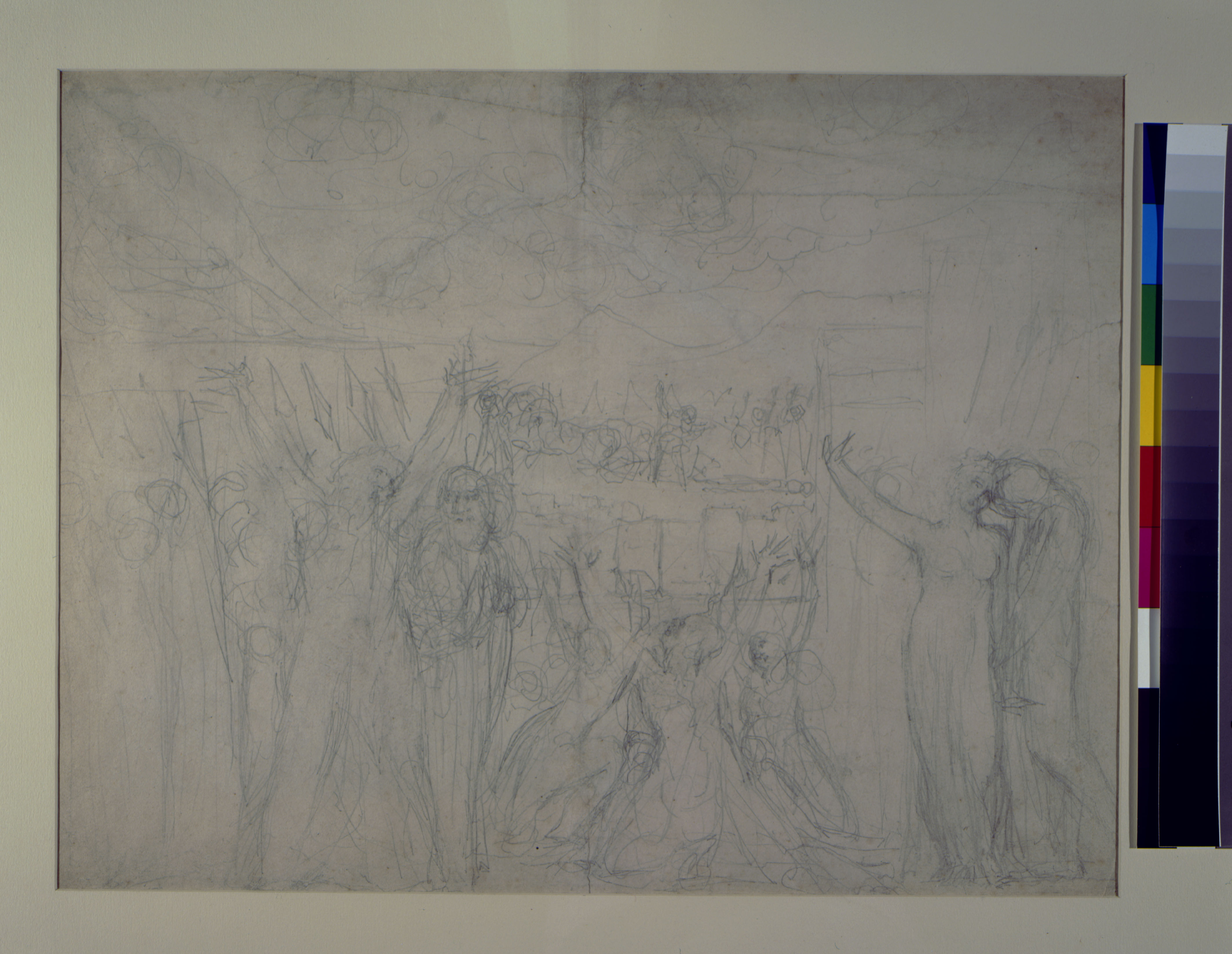 blake in the marketplace 1985 robert n essick blake an 1 blake the death of hector pencil drawing on sheet 42 5 54 3 cm c 1821 27 essick collection untraced between its mis description as jephthah met