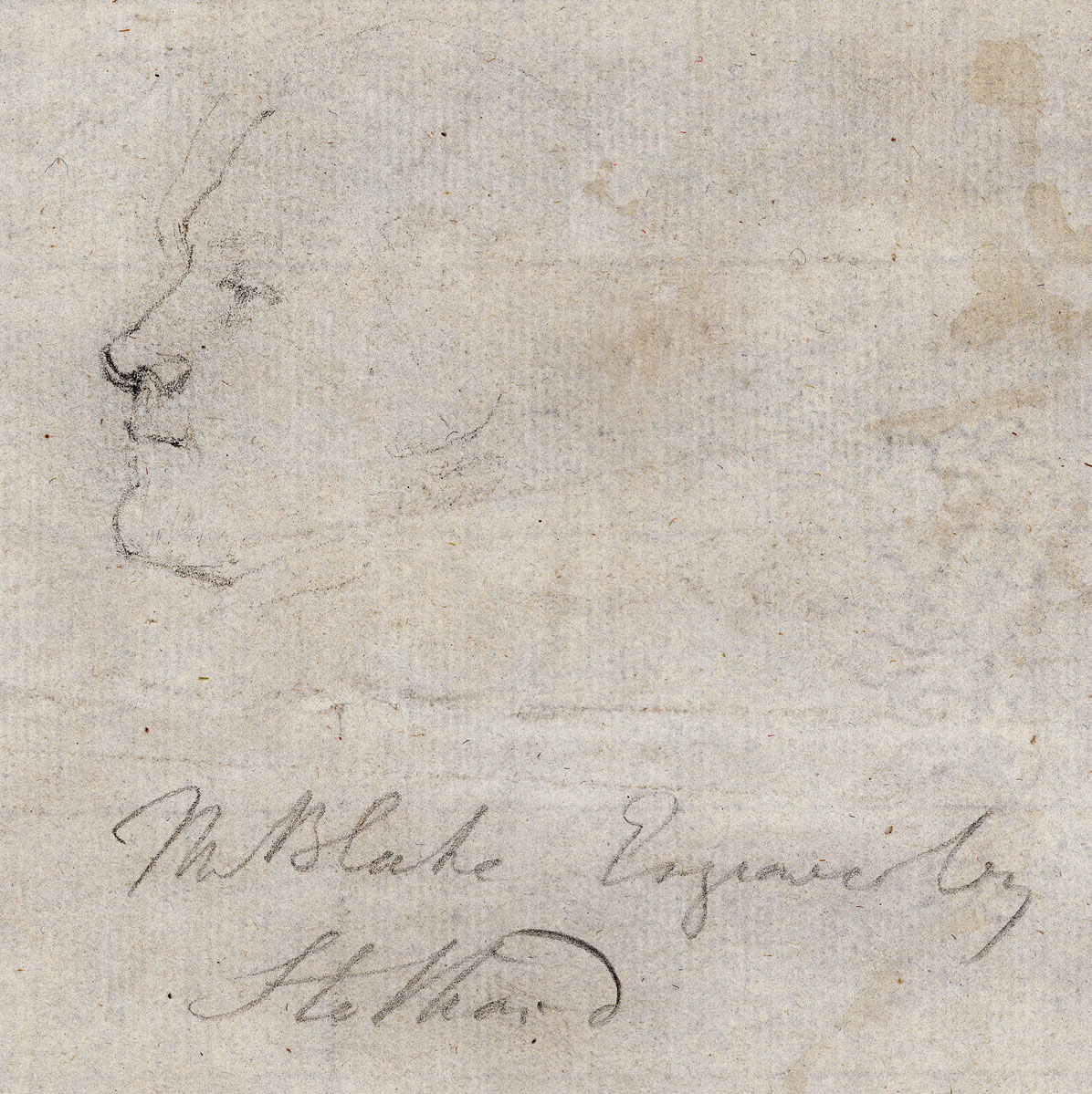 Mr Blake Engraver by                   Stothard